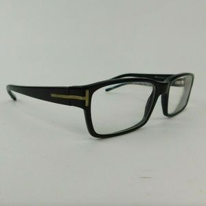 Tom Ford Black Rectangular Eyeglass Frames